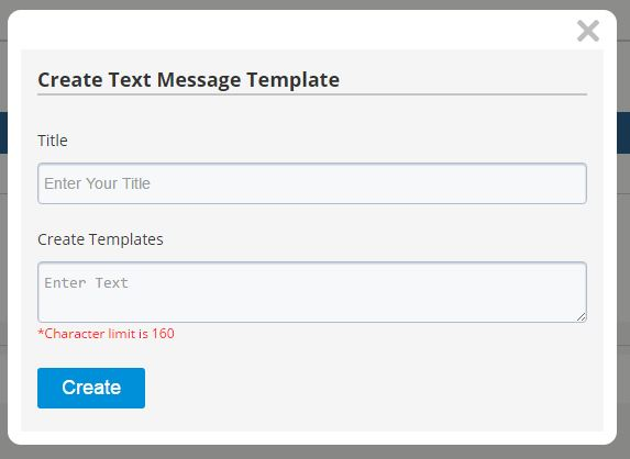How do I create message templates? – Realty Connection